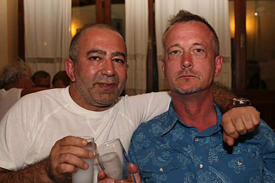 Brothers in Arms: Melih & Chris, Liz's brother
