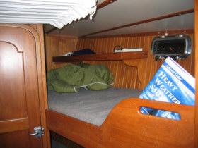 The crew's cabin