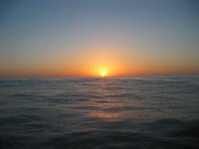 Sunset across the North Sea