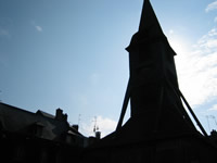 Honfleur, church spire