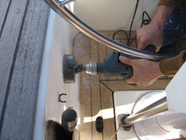 Do NOT do this to your boat....