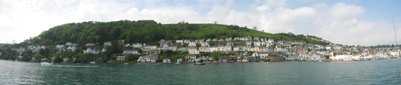 Entrance to the River Dart, UK
