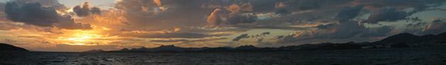 Sunset over Bodrum