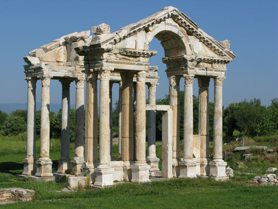 The Tetrapylon at Afrodisias