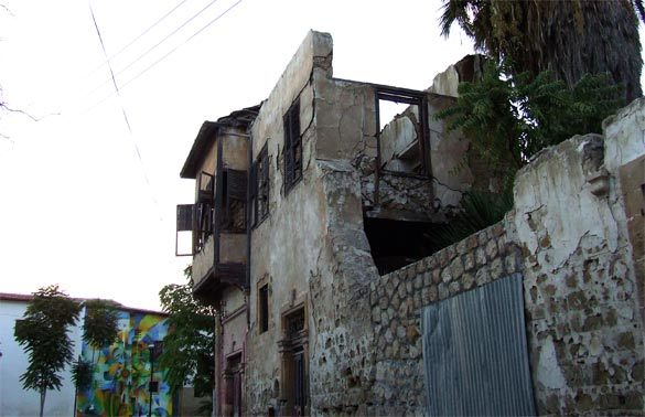Lefkosia again. Yep, someone really does live here. Source: Jim Hughes