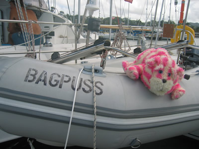Bagpuss: the legend himself!