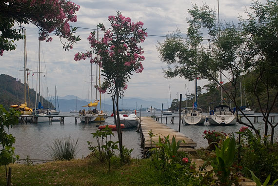 Boynuzbükü. A fantastic anchorage for liveaboards.