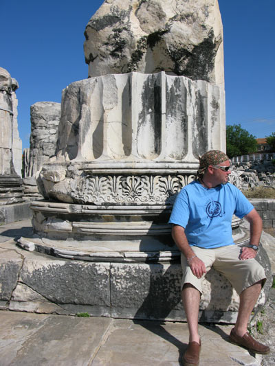 4th Century BC columns