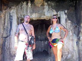 Jamie and Liz, Tomb Bay