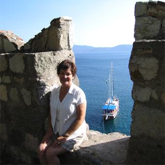 Mum in Bodrum Castle