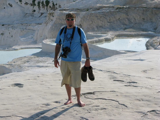 The calcium pools of Pamukkale