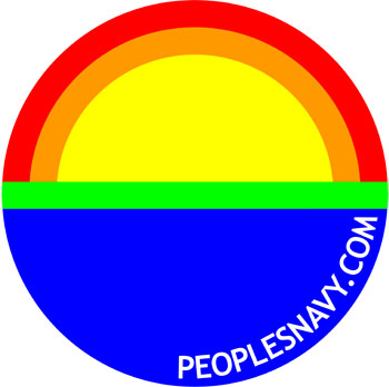 The People's Navy logo, designed by Jamie