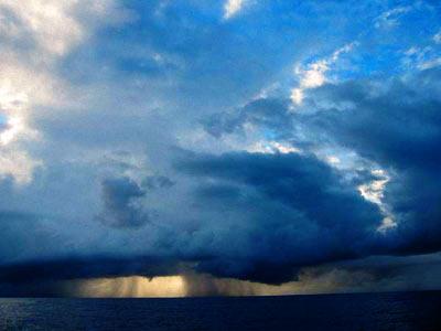Video clip of Marmaris storms