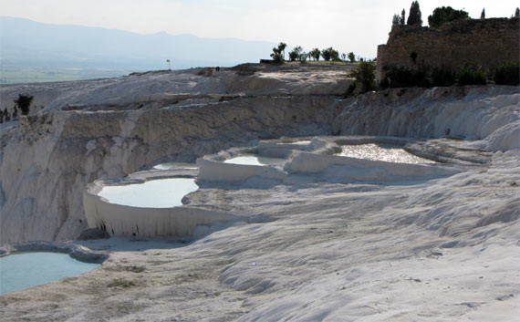 The UNESCO World Heritage pools of Pamukkale