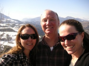 Jenny, Christer and Michelle