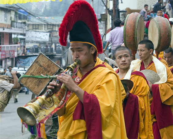 Buddhist trumpet