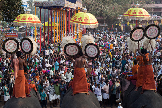 Elephant festival at Cherai