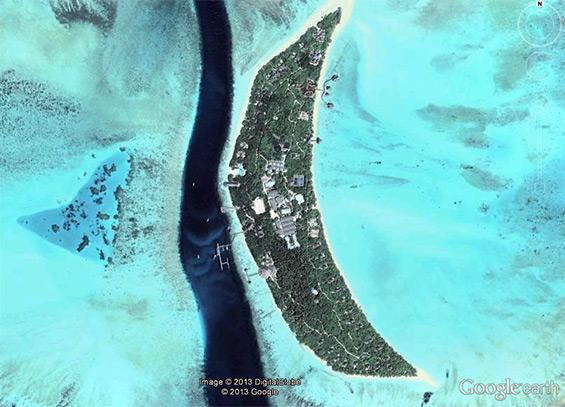 The island of Dhonakulhi