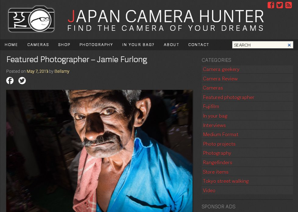 Interview with Japan Camera Hunter