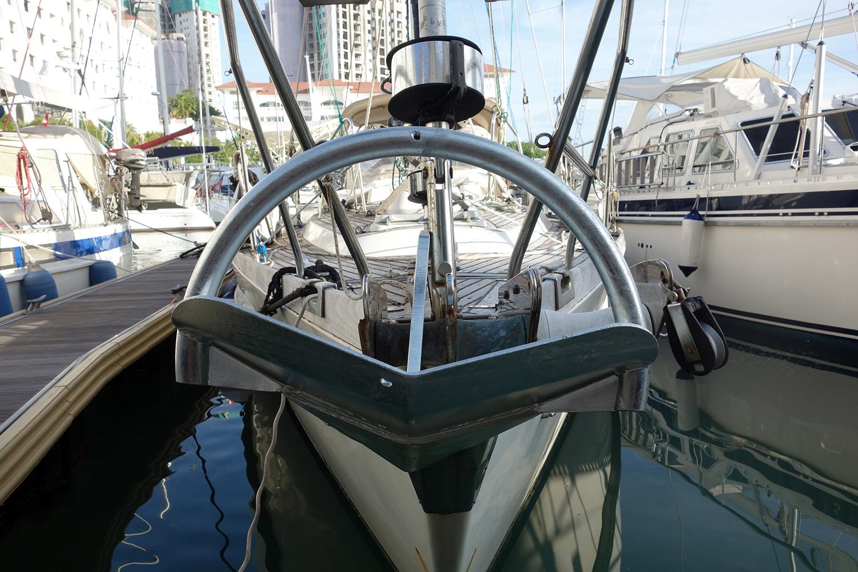 Esper's Rocna anchor re-galvanised