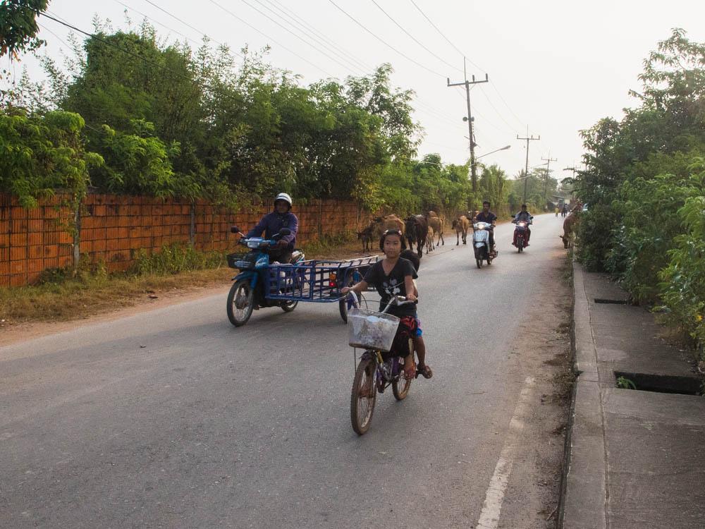 Local residents of Chebilang