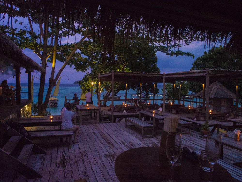 Castaway dining area on Ko Lipe