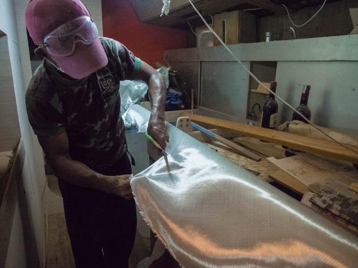 Yodchai cutting fibreglass