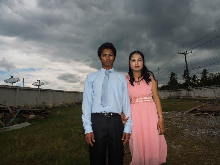 Burmese workers get married in PSS