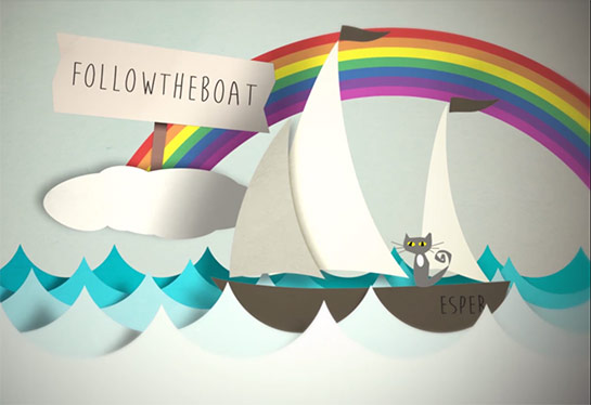 followtheboat has a new theme tune