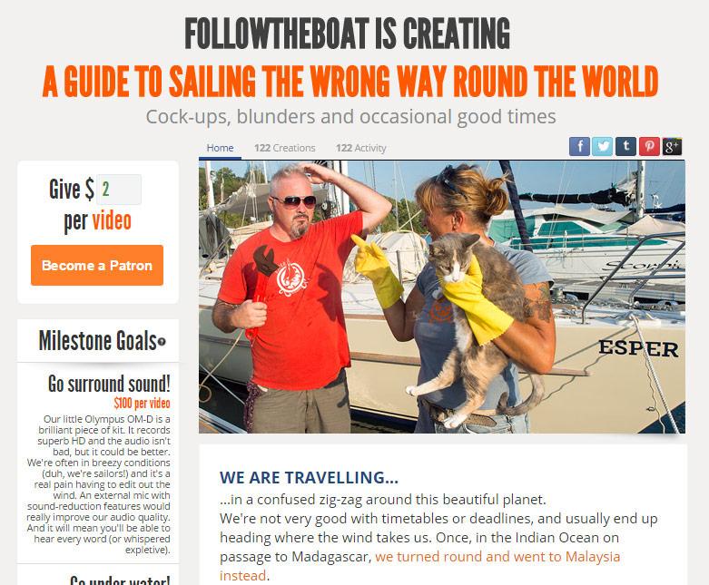 Followtheboat on Patreon