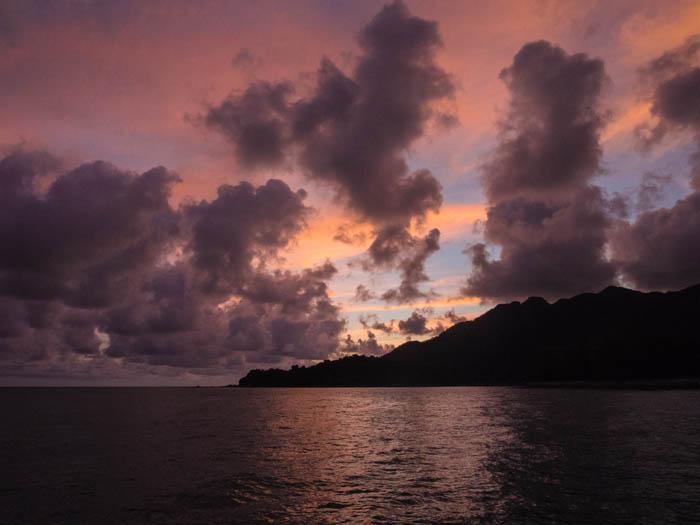 Sunset over Telaga