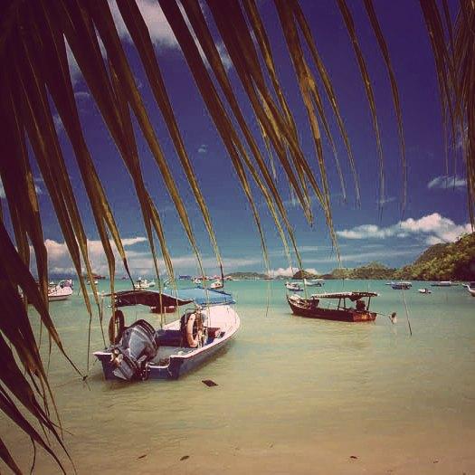 It's peaceful among the fishing boats, off the track, on Langkawi's southern coast. #langkawi #malaysia #coastline #coast #fishingboat #fishinglife #seaside #sea #andamansea #sailingadventure #sailinglife #sailing #peace