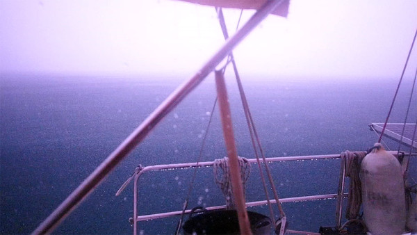 Lightning in the pitch dark aboard Esper