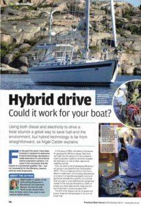 Practical Boat Owner Diesel Hybrid Engine