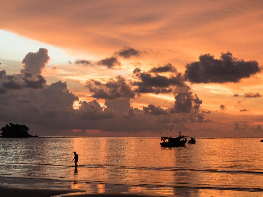 wanderlust nai yang followtheboat sunset