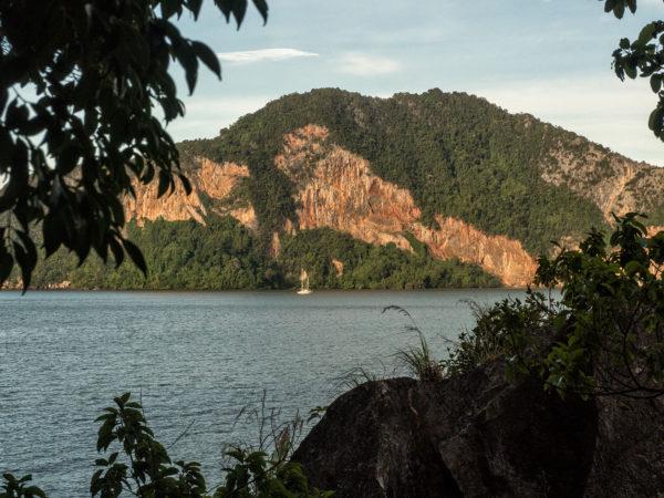 View of Esper looking west taken from James Bond Island