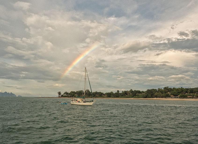 Sailing Phang Na Bay Thailand