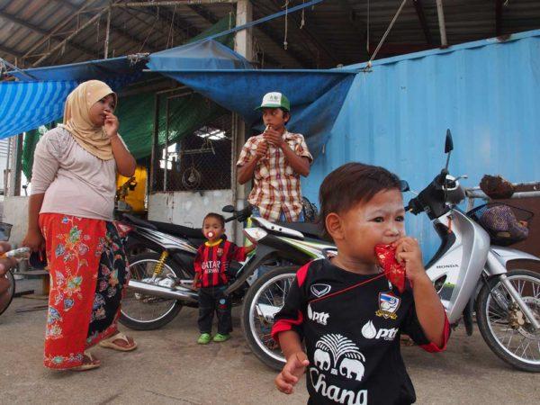 Locals in PSS, Satun, Thailand