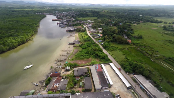 View of PSS Shipyard from above