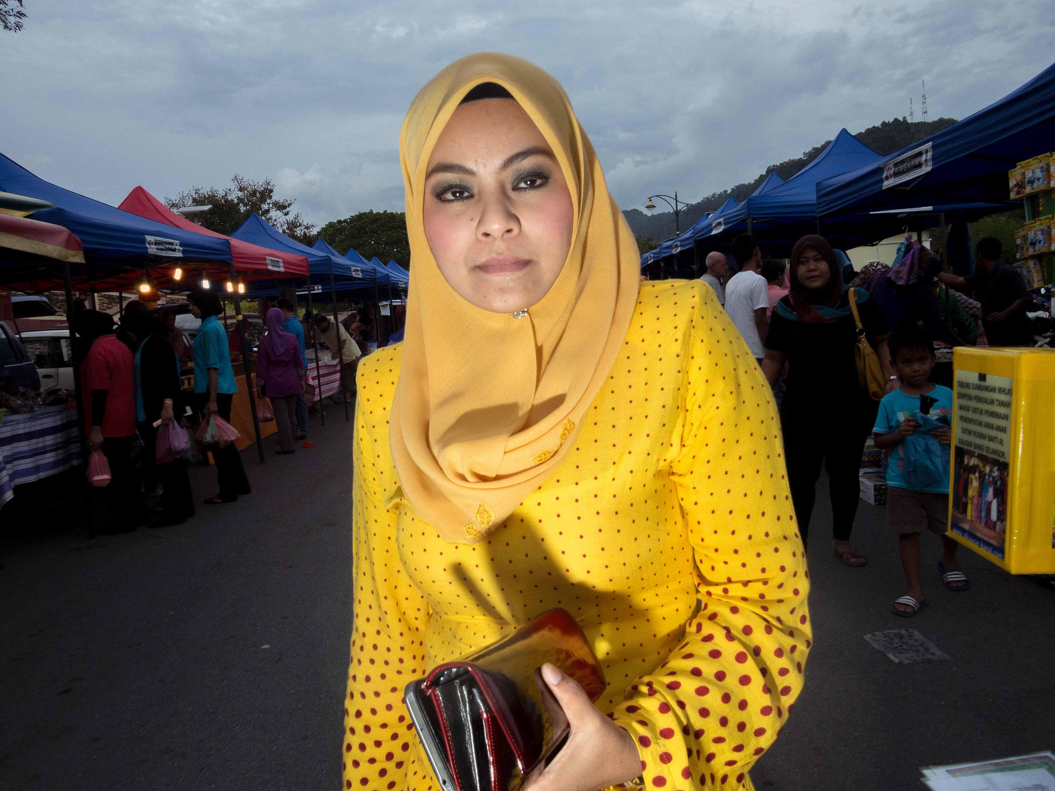 Saturday night market shopping, Langkawi, Malaysia (2013)