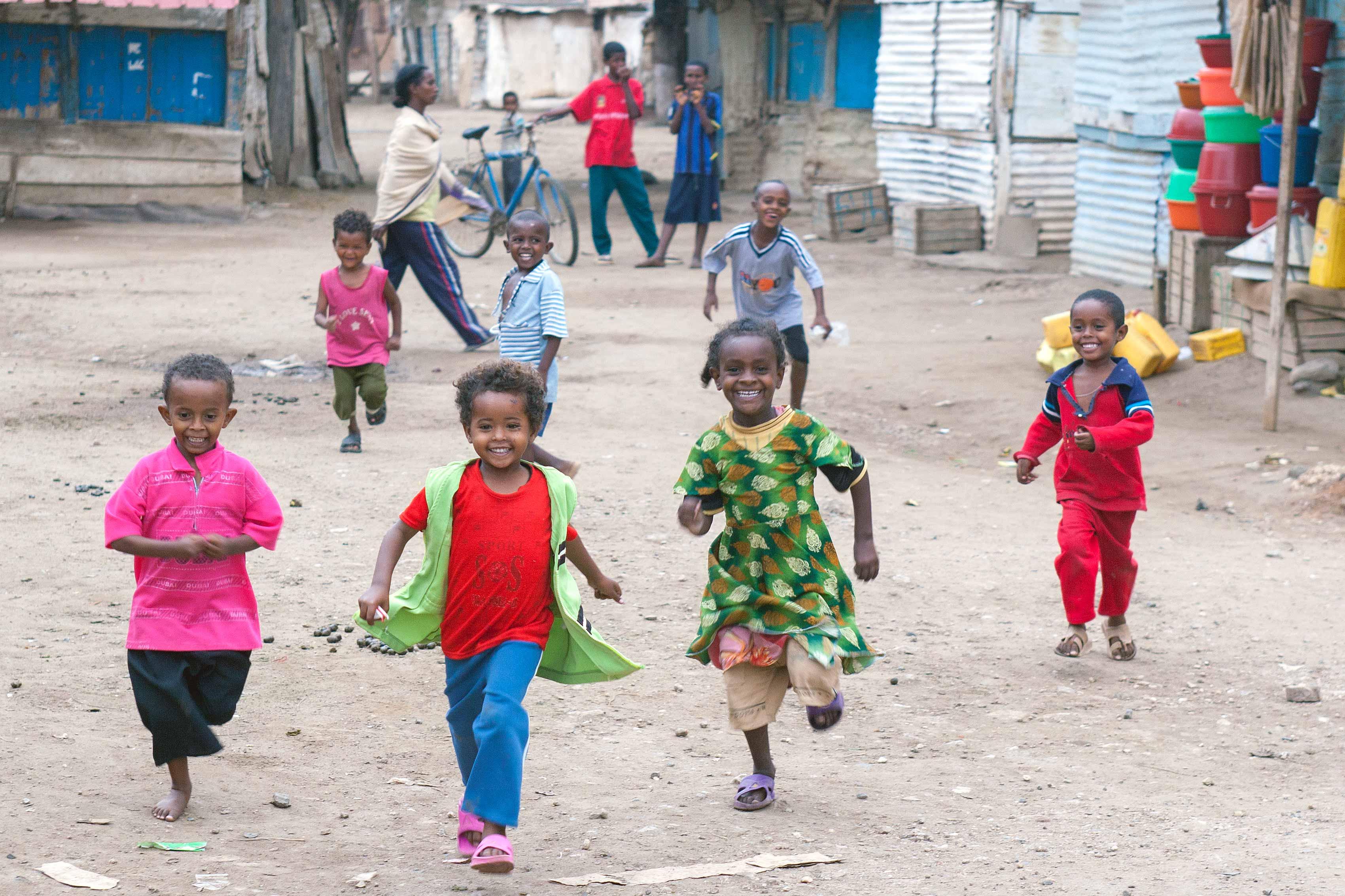 Children of Massawa, Eritrea