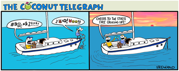 How to argue and still be friends on a boat
