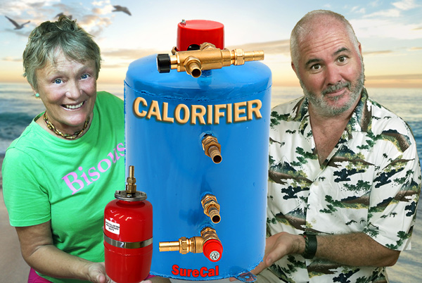 how to install a calorifier water maker