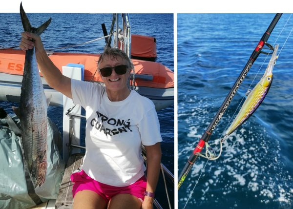 Fishing on a sailboat: tips for cruisers